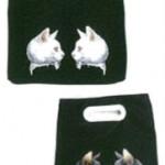 MELANTRICK HEMLIGHET メラントリックヘムライト 022-701 ホワイト&ブラッククラッチbag
