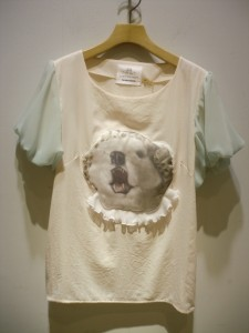bortsprungt ボシュプルメット 動物マスクデコレーションTシャツ10