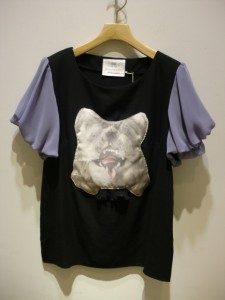 bortsprungt ボシュプルメット 動物マスクデコレーションTシャツ01