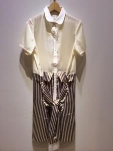MELANTRICK HEMLIGHET メラントリックヘムライト  シャツ×シャツ=ワンピース