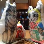 ネコネコオオカミ コネコリョーシュカ 猫頭巾と狼の関係 MELANTRICK HEMLIGHET メラントリックヘムライト