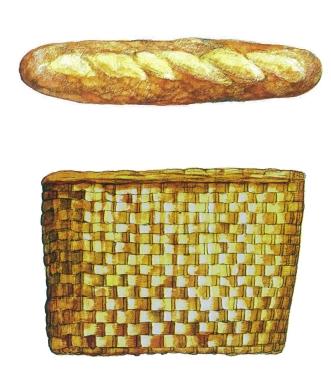 melantric hemlighet メラントリックヘムライト フランスパン ヒグチユウコ