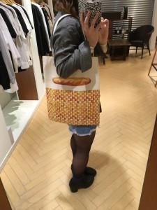 IMG 0624 225x300 『MELANTRICKHEMLIGHT/メラントリックヘムライト★フランスパンのバッグ♡♡♡』