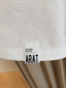 IMG 1456 225x300 【ara ara/アラアラ】ホワイトカラーで春を先取り!ぺプラムフレアTシャツ入荷☆