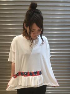 IMG 1849 225x300 『Tsumorichisato/ツモリチサト★ゆったり着心地抜群!フリルTを着てみた♡』
