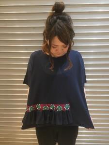 IMG 1852 225x300 『Tsumorichisato/ツモリチサト★ゆったり着心地抜群!フリルTを着てみた♡』
