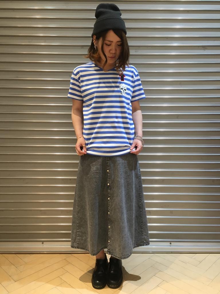 IMG 3943 『MILKBOY/ミルクボーイ★男の子も女の子も着用可♡スリムボーダーTシャツのサイズ感!』