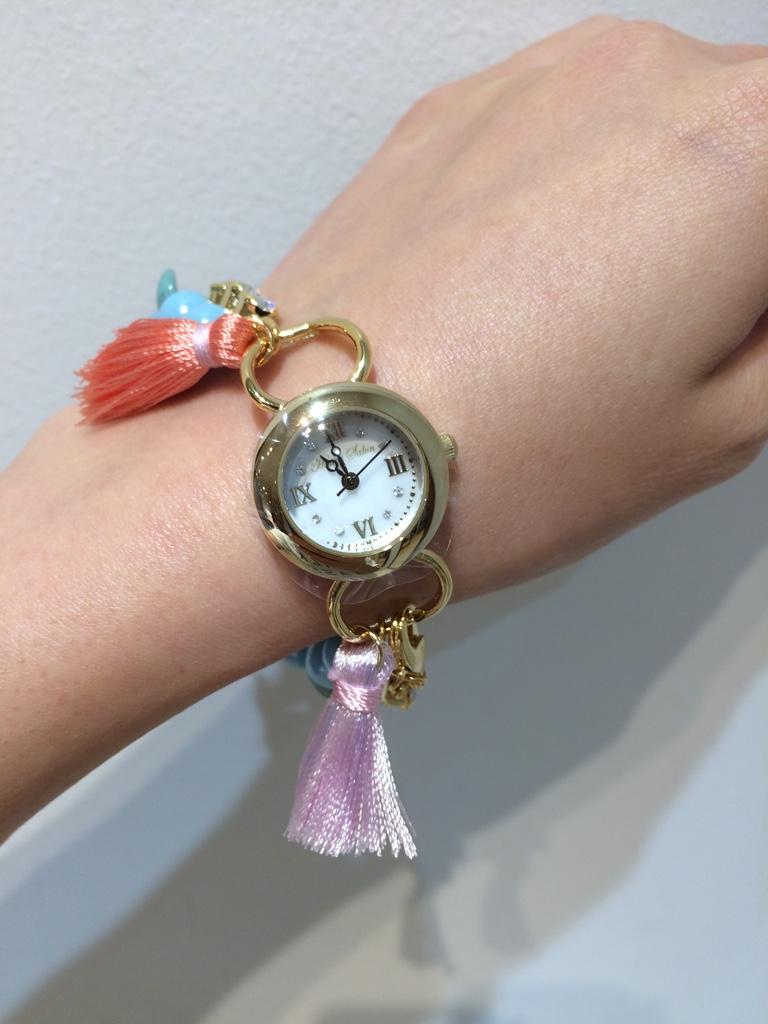 IMG 4160 【Honey Salon/ハニーサロン】時計だけどブレスレット??!