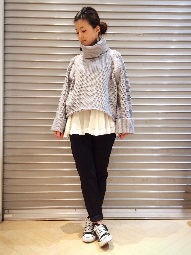 IMG 5547 【ara ara/アラアラ】7月30日のコーディネート☆ざっくりニットはやっぱり可愛い♥